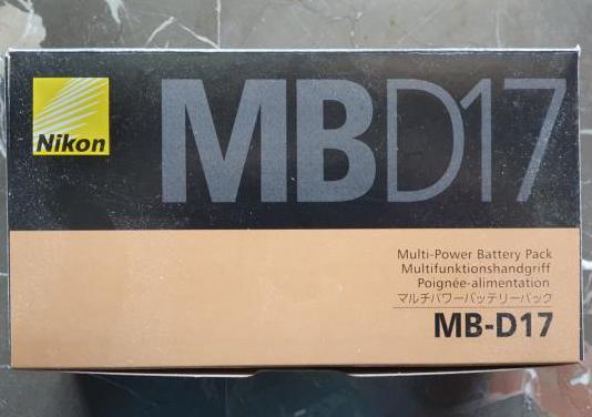 Grip nikon mb-d17 para cámara nikon d500