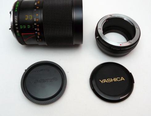 Montaje a sony de yashica 28-80mm macro