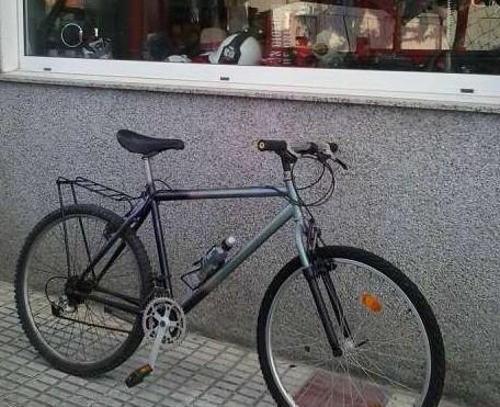 Primera bicicleta mountain bike...bh..con amortiguacion