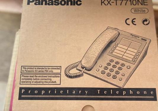 Teléfono panasonic kx-37710ne white
