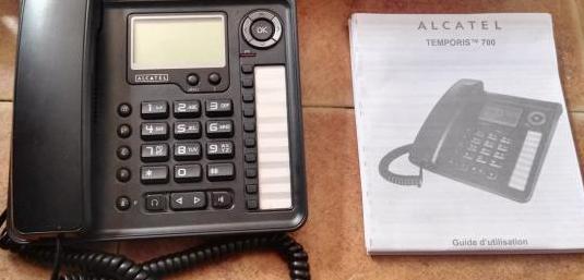 Teléfono fijo alcatel temporis 700