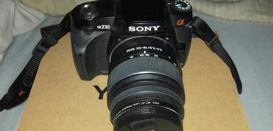 Camara fotos sony a230.leer.ver.
