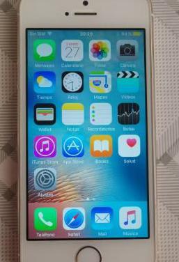 Iphone 5s 64gb dorado