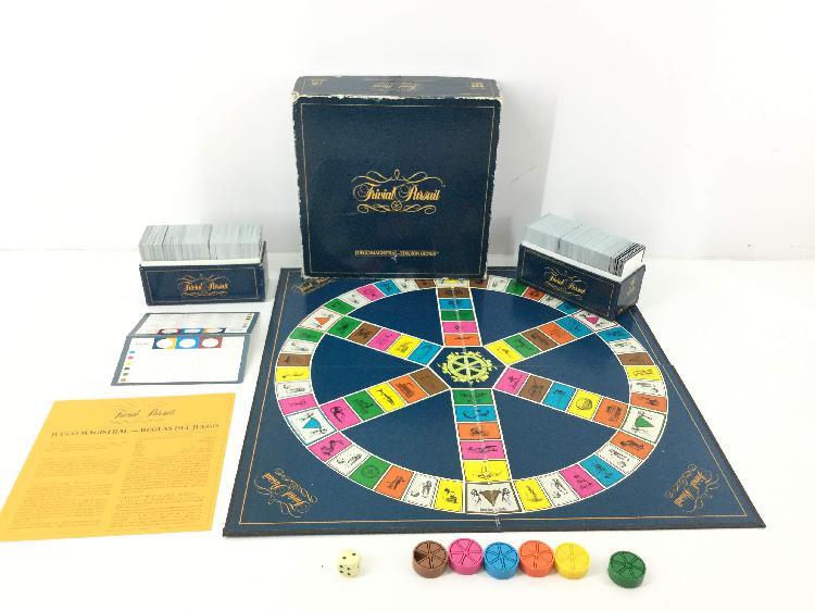 Juegos de mesa diset trivial pursuit