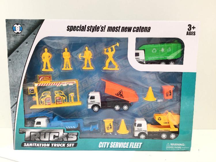 Otros juegos y juguetes otros city service fleet