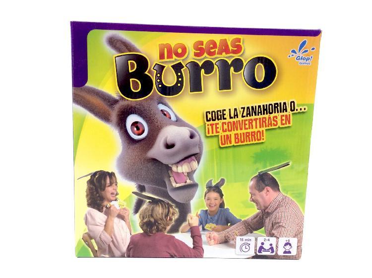 Otros juegos y juguetes otros no seas burro