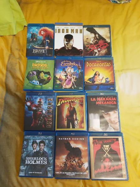 Blu-ray 6 euros la unidad (ver fotos)