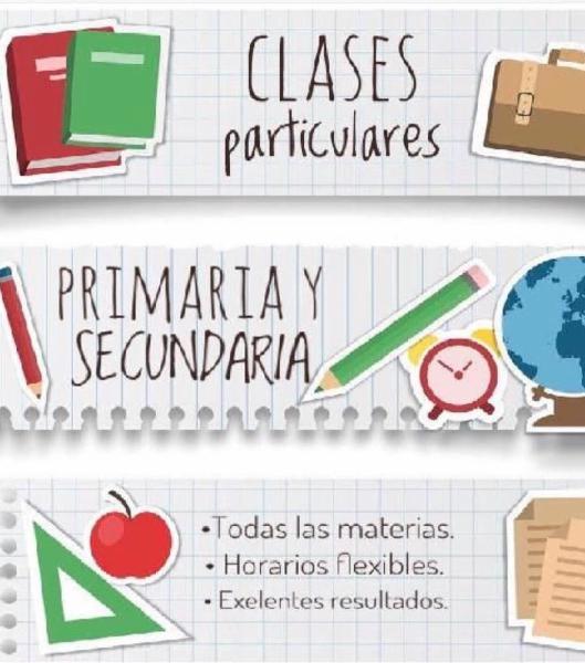 Clases particulares primaria y eso ¡seguras!