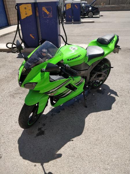 Kawasaki ninja zx6r año 2008