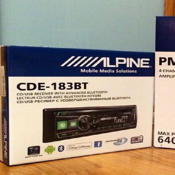 Radio alpine cde 183bt