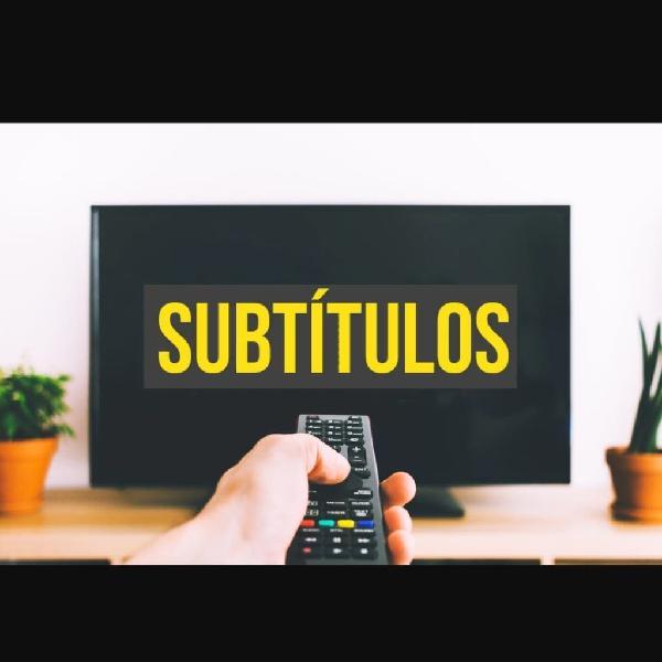 Traductor/subtitulador español - inglés