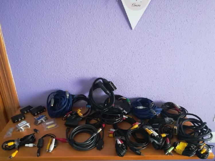 Todo tipo de cables y sonido audio y vídeo