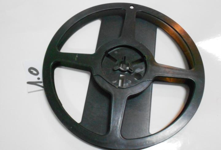 Antiguo carrete para cinta magnetofono o proyector
