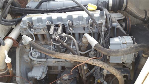 Deutz completo motor para camión