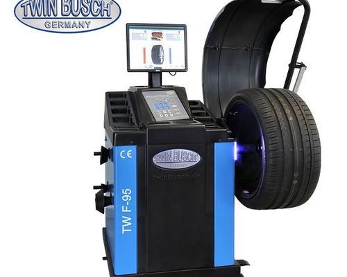 Equilibradora de ruedas automática - tw f-95
