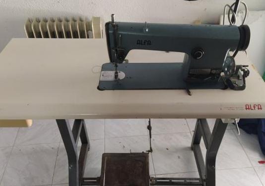 Maquina de coser industrial alfa 157 303