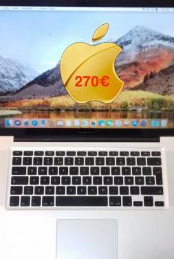 Macbook pro 15 / ssd 256 gb / ram 8 gb