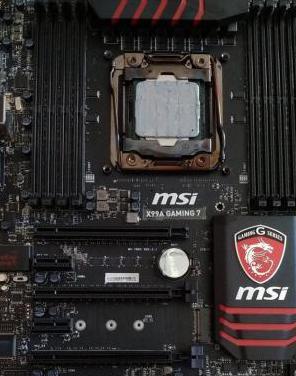 Placa base msi x99a gaming 7 intel i7 5820k game