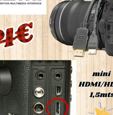 Cable hdmi/mini hdmi