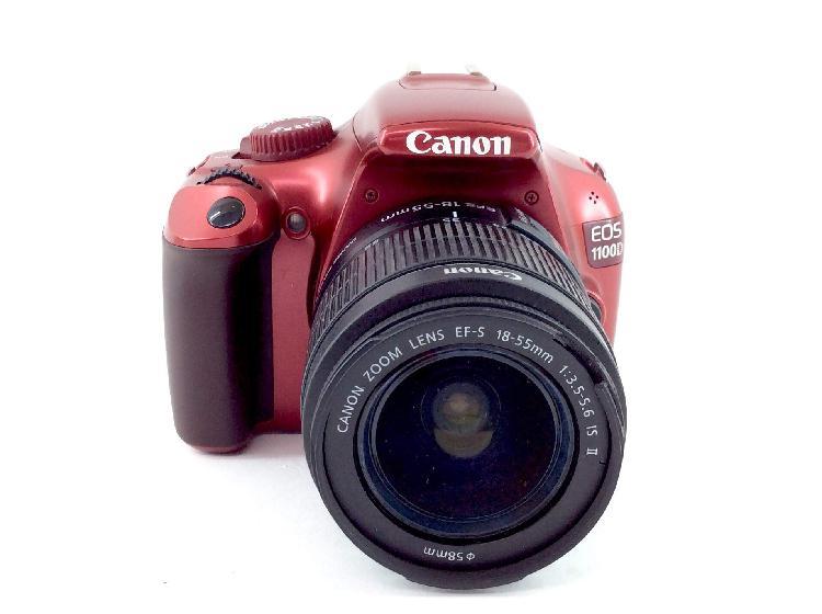 Camara digital reflex canon eos 1100d+ef-s 18-55mm 1:3.5-5.6