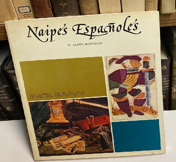 Año 1975 - naipes españoles por llano gorostiza - libro