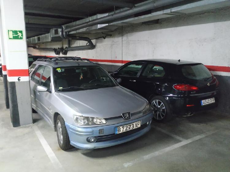 Alquiler de plaza de parking (garaje)