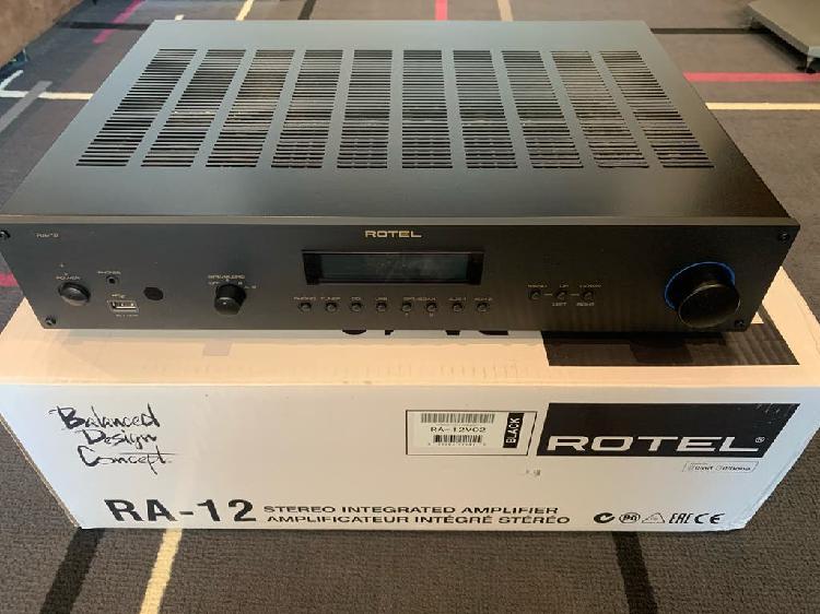 Amplificador rotel alta gama ra-12