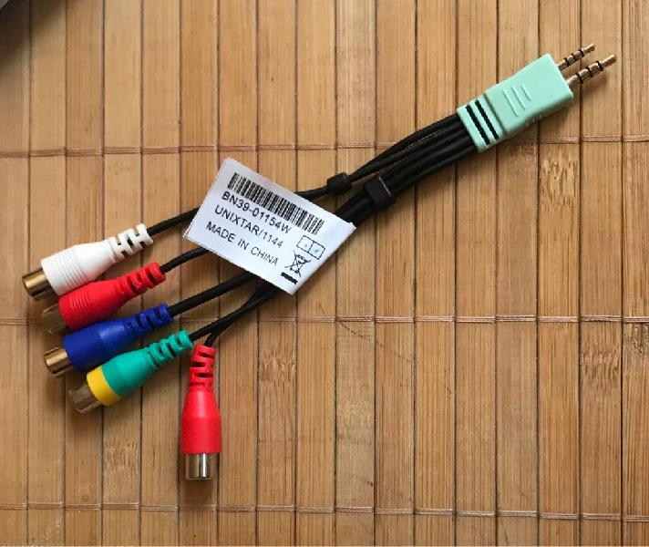 Cable adaptador samsung tv(2,5mm+ jack de 3,5mm)