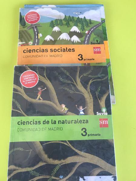 Ciencias sociales y naturales en 3 primaria