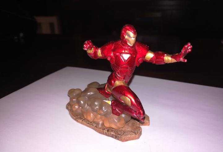 Iron man marvel figura de pvc ironman