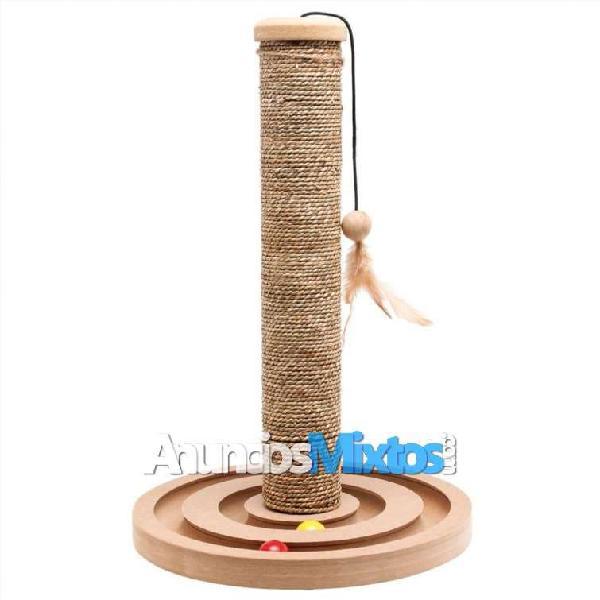 Poste rascador para gatos con pelota brigitte 30x4