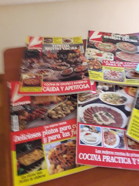 Revistas lecturas cocina