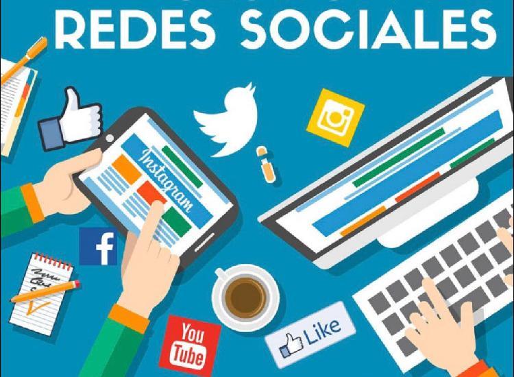 Redes sociales, community manager, diseño gráfico