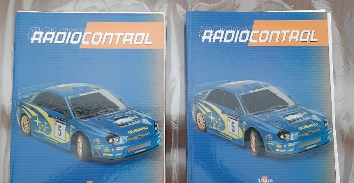 Subaru impreza 1:10 radio control altaya colección completa