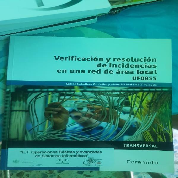 Verificación y resolución de incidencias red local