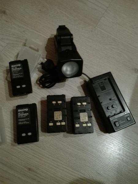 Baterias camara video