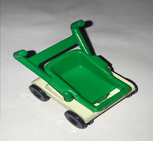 Carrito bebe niño ciudad playmobil