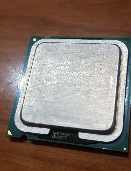 Cpu intel pentium 4 - 3gh sl7pu
