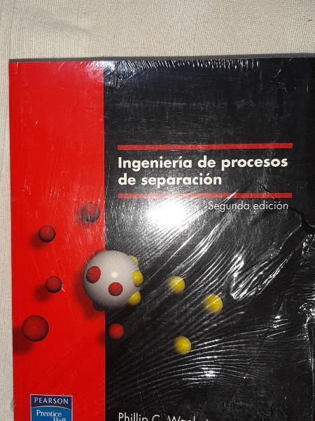 Ingeniería de procesos de separación.
