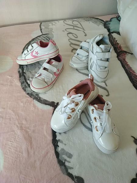 Lote zapatillas niña talla 26,27 y 28