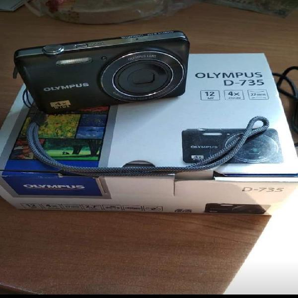 Ve el cámara de fotos olympus d-735