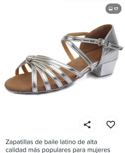 Zapatos de baile talla 39 /40 de estreno rebajado