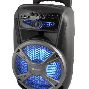 Altavoz trolley bluetooth karaoke usb