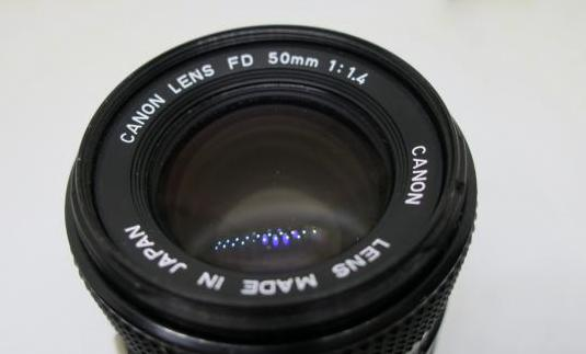 Canon fd 50 mm f 1,4