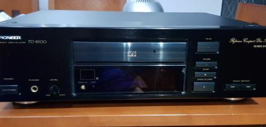 Cd player pioneer pd 8500.vintage hecho en japon.