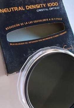 Filtro 72mm gris neutro x1000