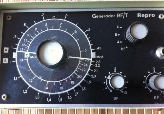 Generador de rf y af radio frecuencia y audio rf/t