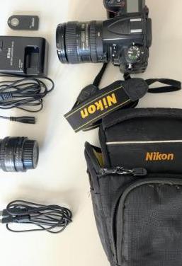 Nikon d7000 con 2 lentes