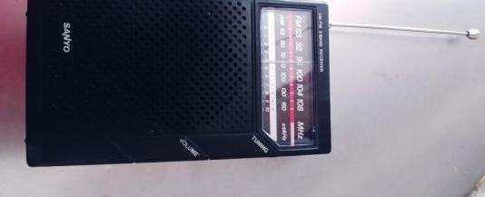 Radio transistor vintage sanyo rp 5065d