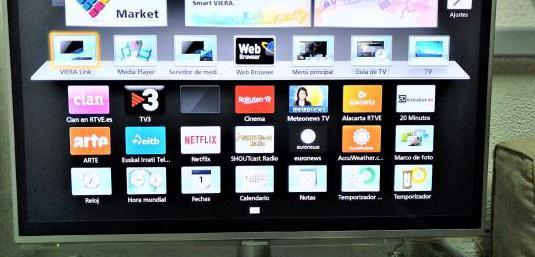 Smart tv 32 slim led panasonic